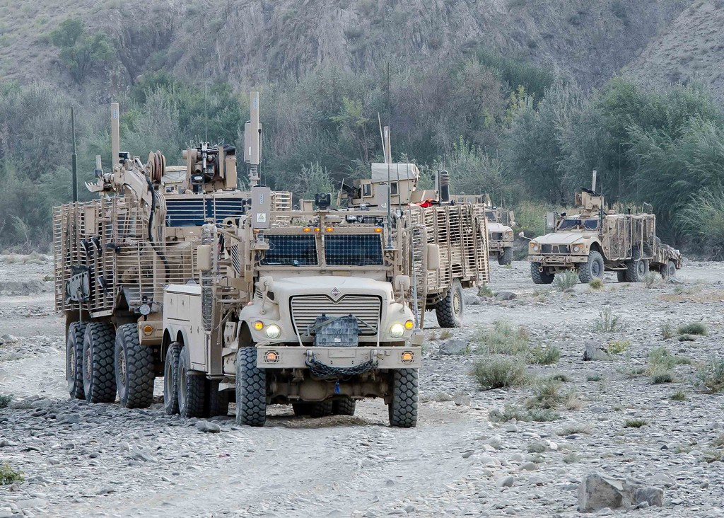 Blazing Trails U S Army Route Clearance Paves The Way