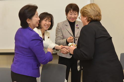 UN Women Executive Director Michelle Bachelet attends Lunch Study Meeting with the Japan Parliamentary Caucus for UN Women, Gender Equality and Development | by UN Women Gallery