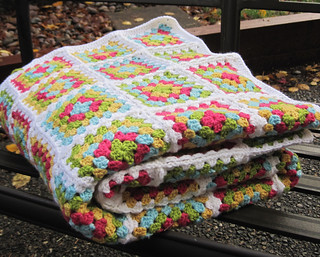 Granny Square Afghan | by twiddletails