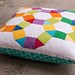 English Paper Pieced Spring Carnival Pillow