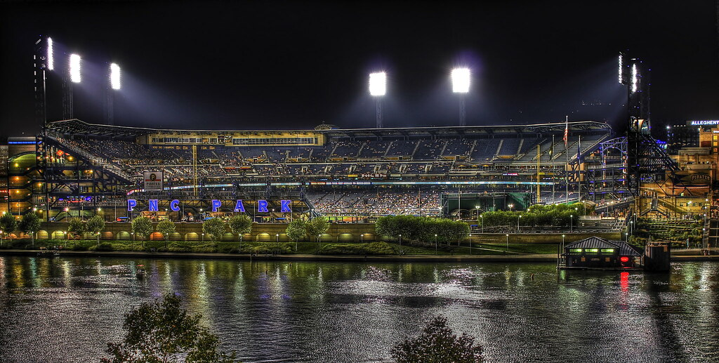 PNC Park HDR Night | Beautiful night for a baseball game for… | Flickr