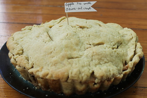 Apple Pie with Olive Oil Crust | by Célèste of Fashion is Evolution