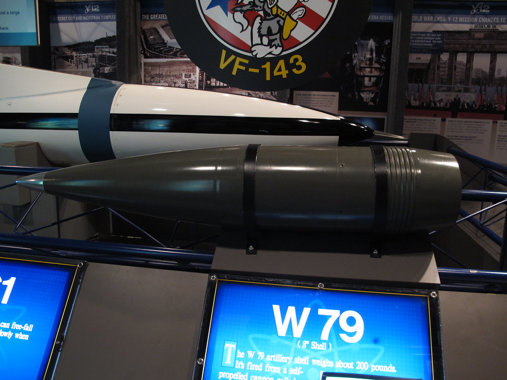 The Nuclear Option >> W79 8 inch Nuclear Artillery Shell | The W79 was an American… | Flickr