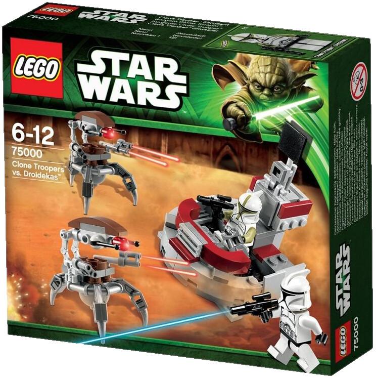 lego star wars 75000  clone troopers vs droidekas  batt