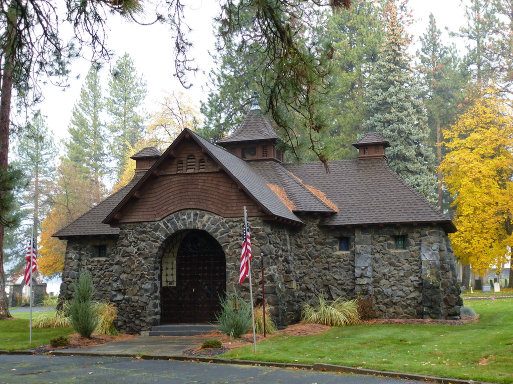 Spokane Wa Fairmount Memorial Park Chapel Fairmount