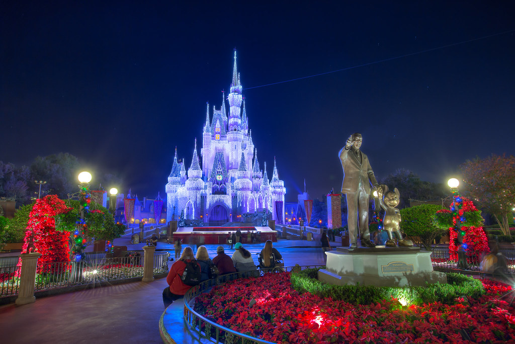Magic kingdom christmas castle jeff krause flickr magic kingdom christmas castle by jeff krause photography voltagebd Images