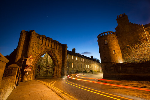 The Pends at night, St. Andrews, Scotland | by Lisa Bettany {Mostly Lisa}