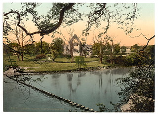 [Abbey stepping stones, I, Bolton Abbey, England]  (LOC) | by The Library of Congress