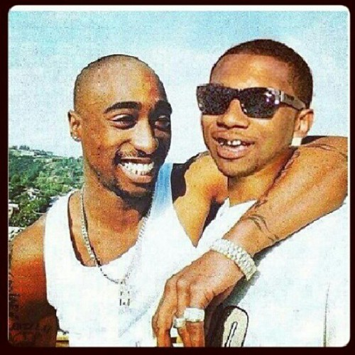 tupac in africa No he is dead but there is a vid called tribute to tupac and south africa  on you tube by this guy named marquis garner and his dad steve garner.
