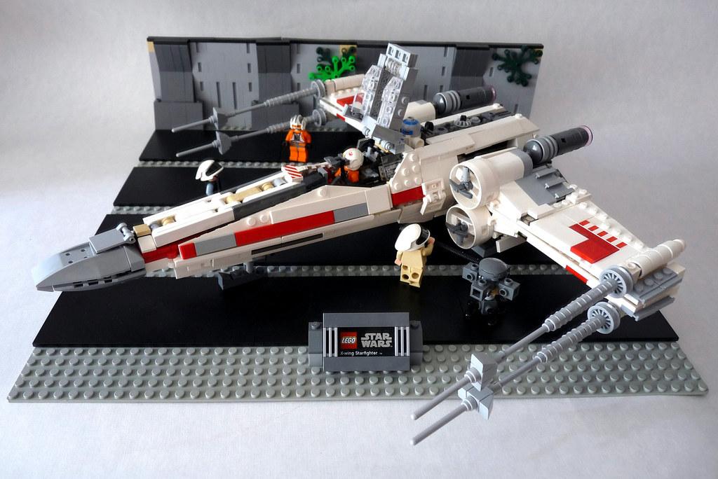 Incom T 65 X Wing Starfighter Instructionspartlistldd F Flickr