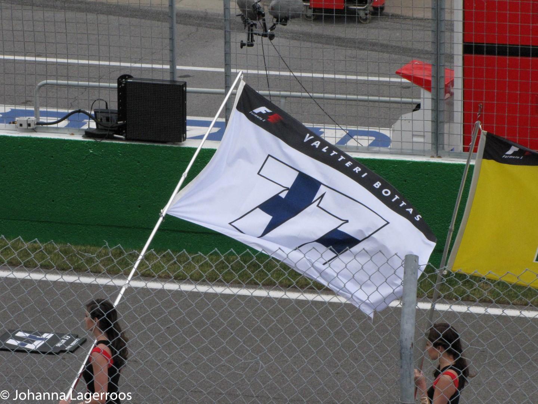 bottas flag