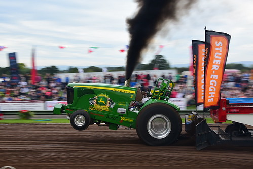 Michael Galsgaard, John Deere 2, European Tractor Pulling Championship, Great Eccleston 2016