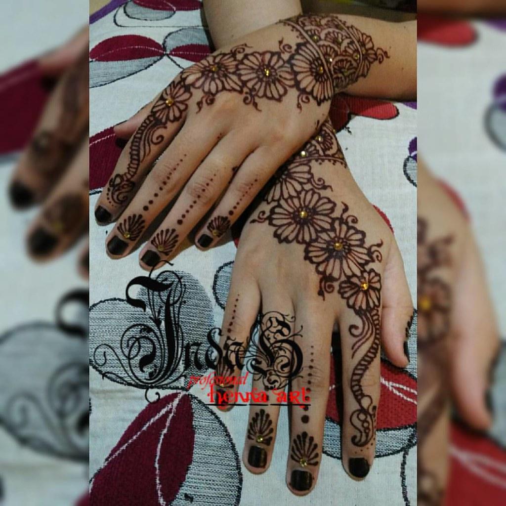 Henna Wedding Simple Beauty By Indah Henna Design Ade Indah Flickr