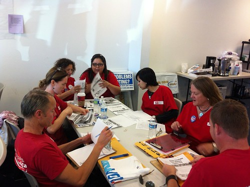 RNs and staff Prepare to get out the vote! | by National Nurses United