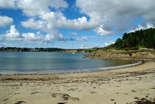 Bretagne, Finistère Sud, Moelan Sur Mer : La Plage De