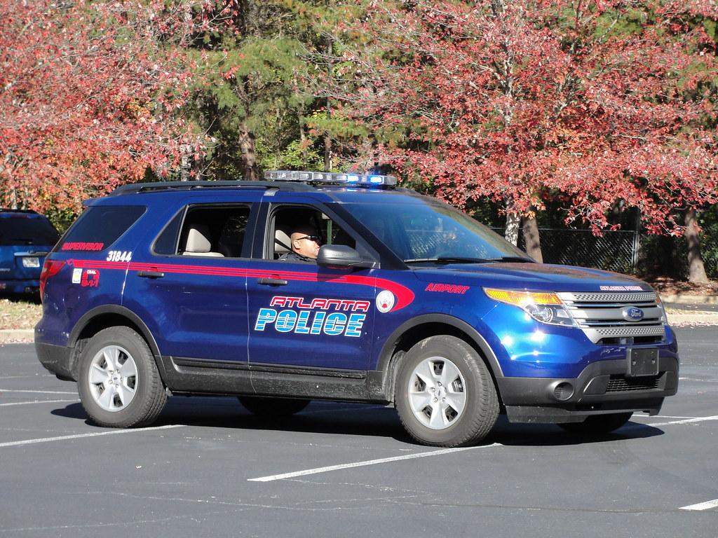 White Ford Explorer >> Atlanta PD, GA Ford Explorer (Airport Supervisor Unit ...