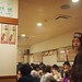 Lunch at a crowded kushi-age place