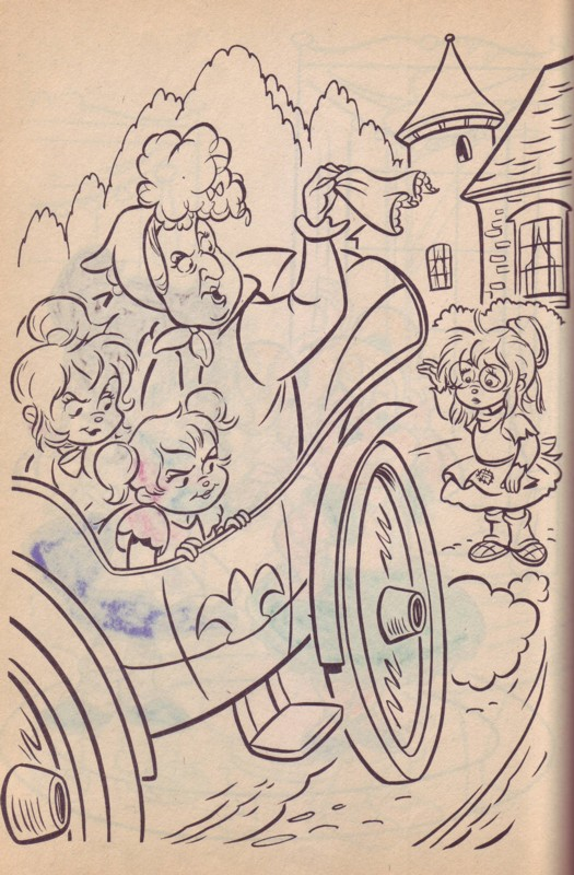 Ultimately Optic Chipmunks Coloring Book Cinderella Story For DDJ