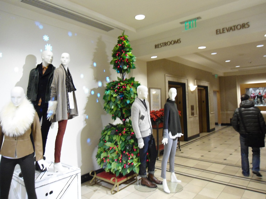 Nordstrom Christmas- 4th floor Elevator court Seattle WA | Flickr