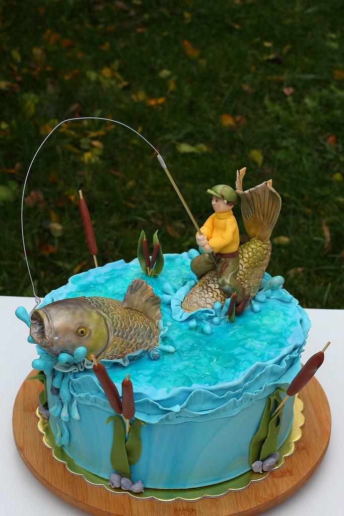 Gone Fishing Cake Polina Laskova Flickr