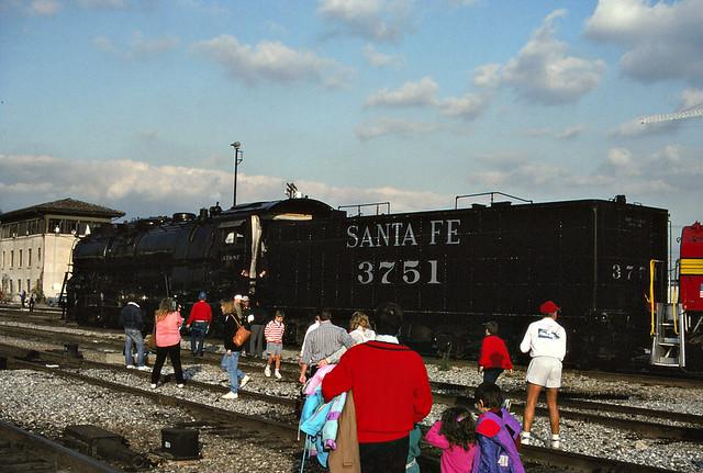 RailPictures.Net Photo: ATSF 3751 Atchison, Topeka & Santa Fe ...