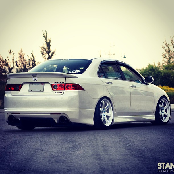 All White Everything #tsx #import #tuner #honda #acura #ac