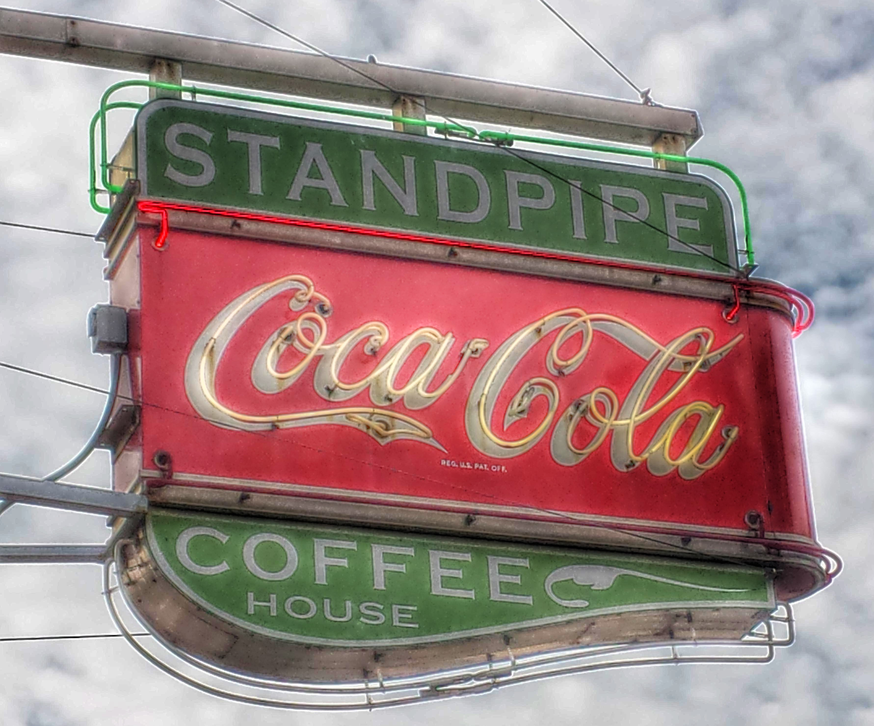 Standpipe Coffee House - 123 South 1st Street, Lufkin, Texas U.S.A. - April 11, 2015