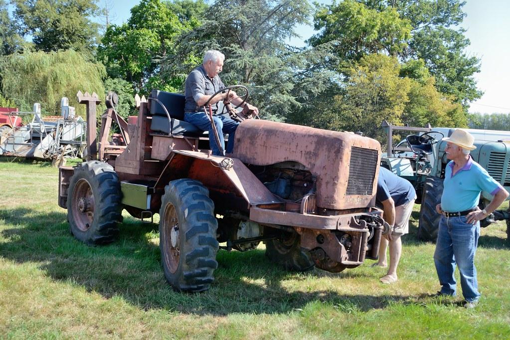 tracteur forestier isere
