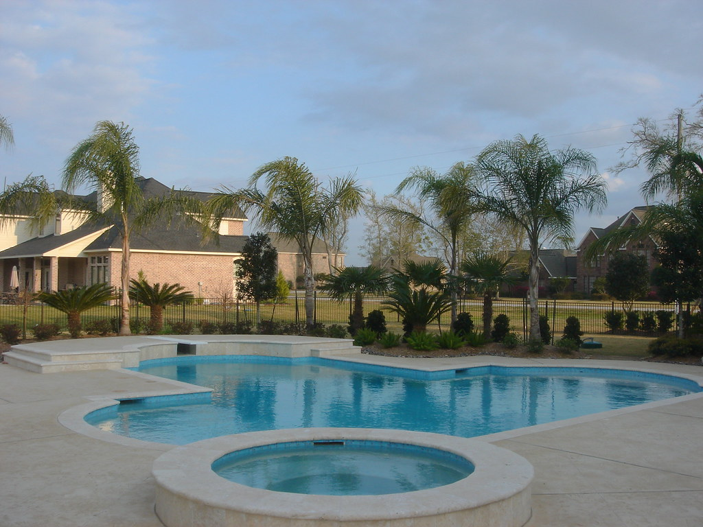 pool and spa geometric pool design backyard ame flickr