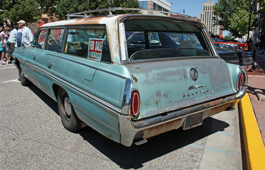 1962 pontiac catalina safari station wagon 4 of 4 flickr. Cars Review. Best American Auto & Cars Review
