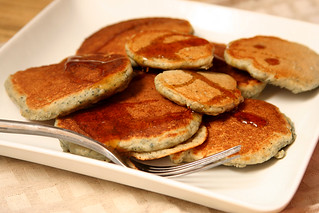 cornmeal molasses pancakes 7 | by crumblycookie