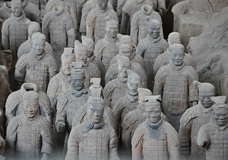 The Terracotta Army. Xi'an. China.  Explore 16/11/2012   #1 | by marinfinito