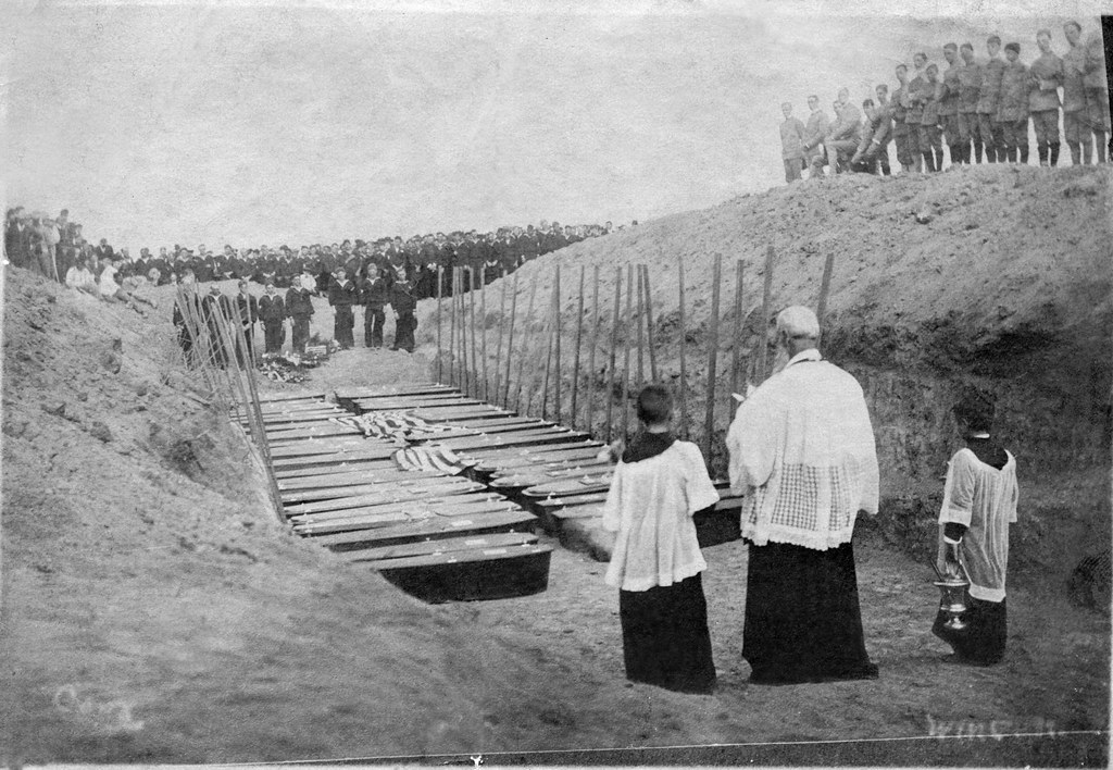 Mass Burial San Francisco Earthquake 1906 Victims Of