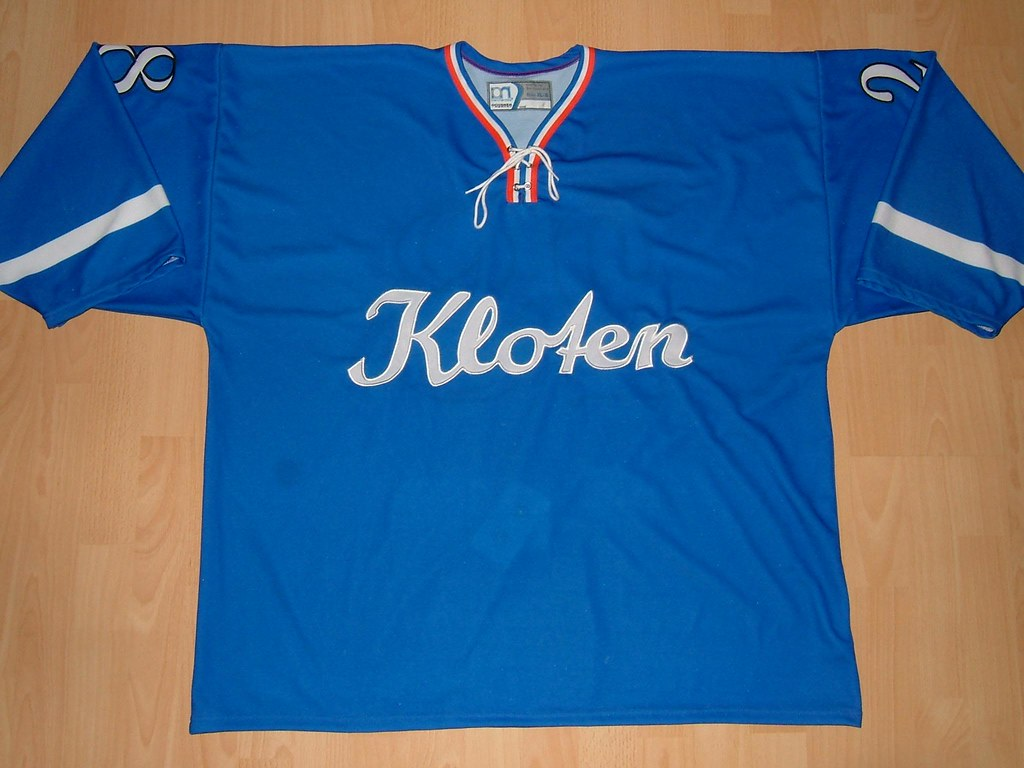 check out 8b7dc 0100e Kloten Flyers 2009 Retro Game Worn Jersey | This jersey was ...