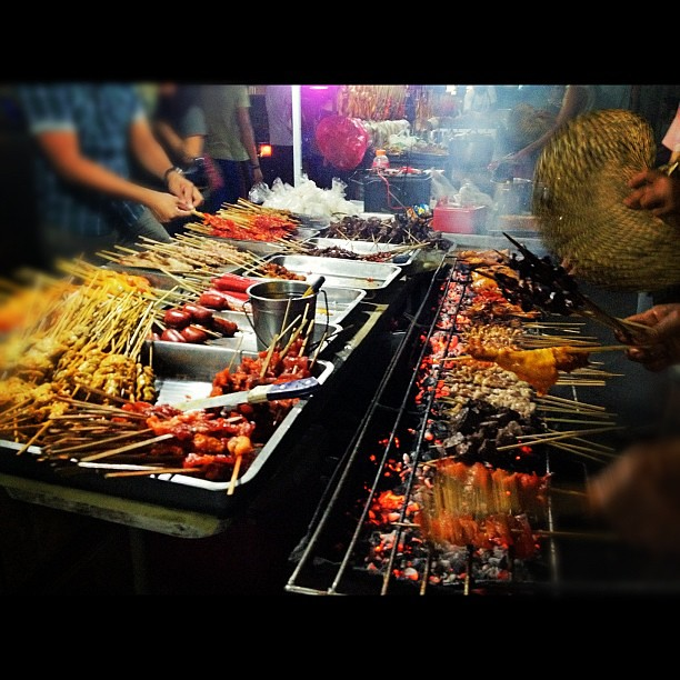 What I Miss Most In The Philippines Isaw Chicken Skin P Flickr