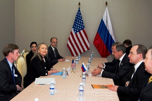 Secretary Clinton Meets With Russian Foreign Minister Lavrov | by U.S. Department of State