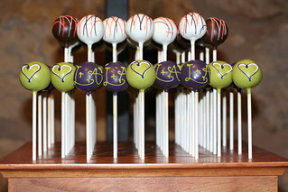 Custom Cake Pops for Wedding Display | by Sweet Lauren Cakes