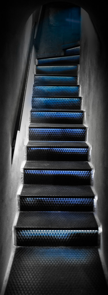"""Blue Steps To Success: """"Steps And Stairs"""" Theme"""