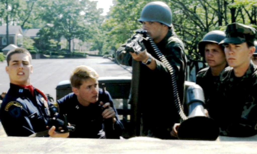 Still From Taps 1981 L R Tom Cruise Sean Penn