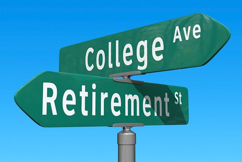 Crossroads: Retirement or College Fund | by ccPixs.com