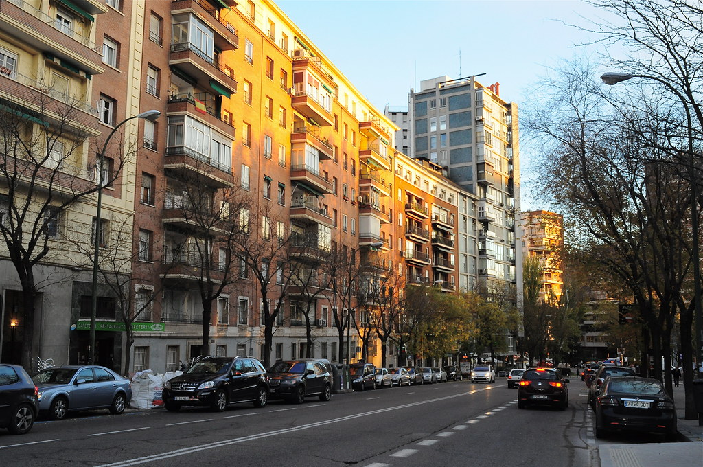 Calle isaac peral madrid m roa flickr - H m calle orense madrid ...