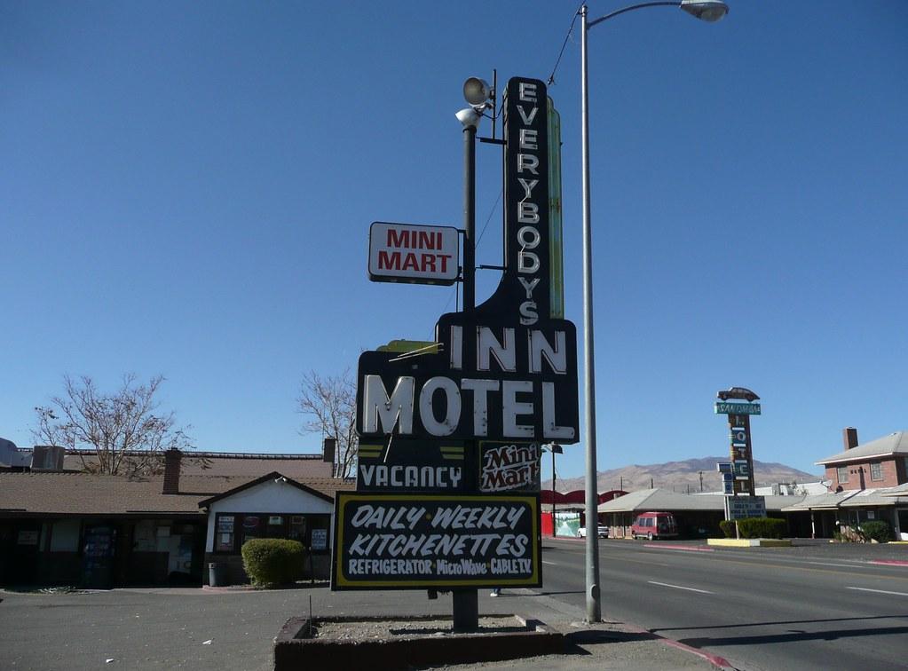 Everybodys Inn Motel Reno Nevada 1756 East 4th Street Flickr
