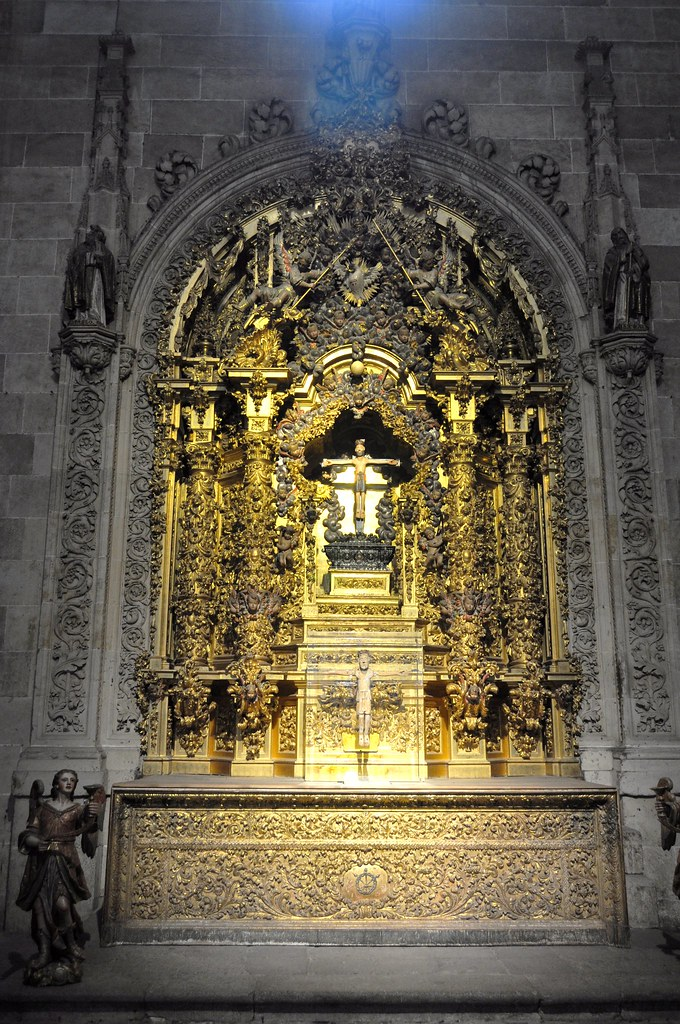 Catedral nueva de Salamanca. Capilla del Cristo de las Bat…  Flickr