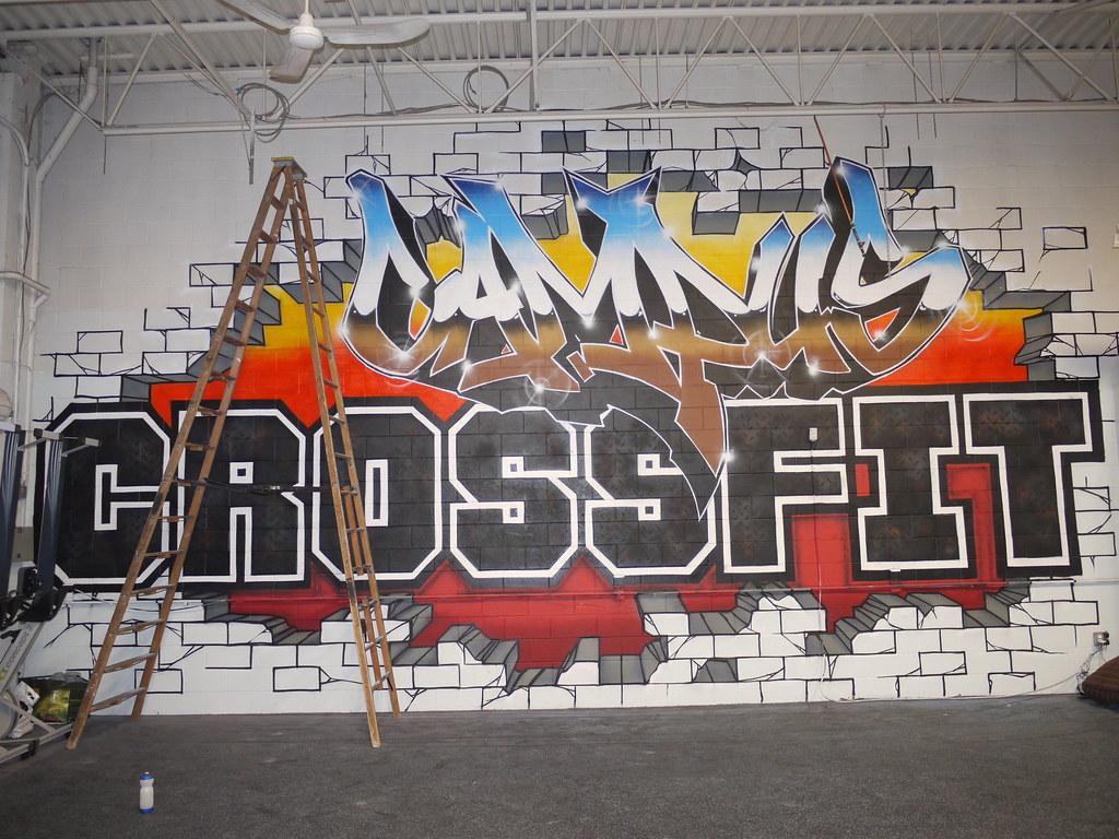 Campus Crossfit Mural