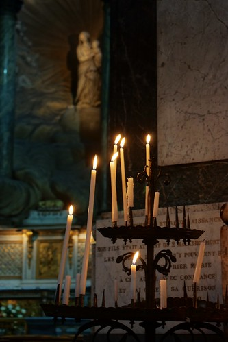 Candles in Saint Sulpice | by mehjg