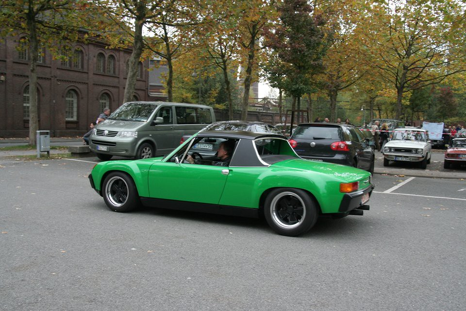 historicar duisburg 2012 img 6501 vw porsche 914 green thomas flickr. Black Bedroom Furniture Sets. Home Design Ideas