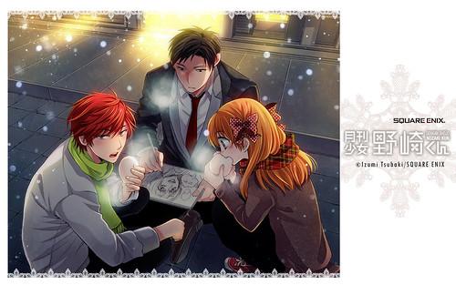 121213(1) - 第25回、漫畫家「椿泉」高中漫畫家與愉快夥伴們的搞笑日常《月刊少女野崎くん》連載更新!