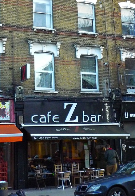 Z Cafe Bar Stoke Newington