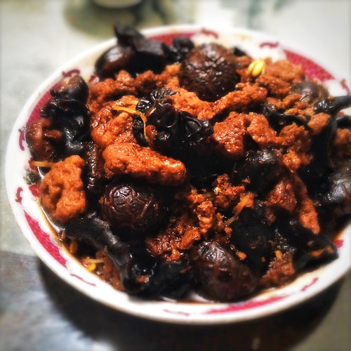 kao fu, Red Braised, soy braised, Wheat Gluten, Kaofu, recipe, shanghai, chinese, vegetarian,  紅燒, 烤麩, 素, 齋, 上海