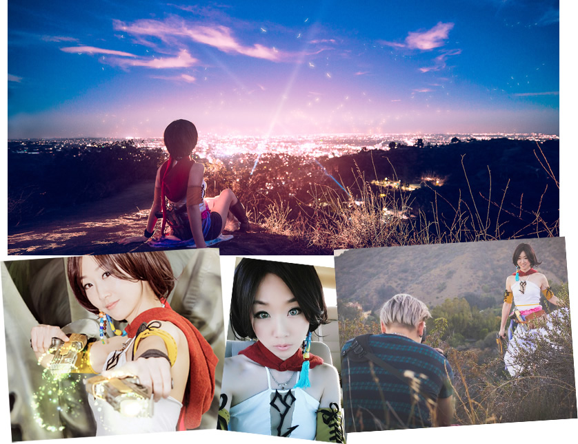 外拍,攝影,角色扮演,cosplay,cosplayer,同人,gunner yuna,yuna,FFX2,太空戰士,final fantasy,photoshoot,外拍作品